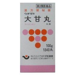 画像1: ウチダの大甘丸 100g(約1340丸) 【第2類医薬品】