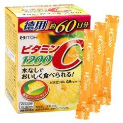 画像1: ビタミンC1200徳用(2g×60袋)